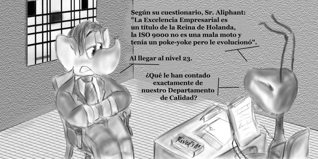 Aliphant XI. Leyendas de la Calidad