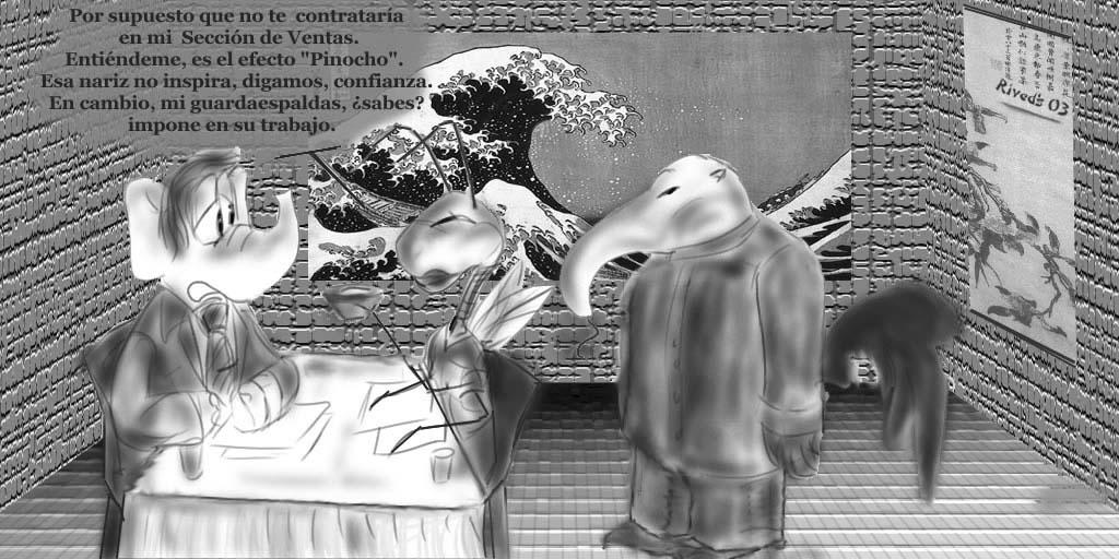 Aliphant XVI. Efecto Pinocho