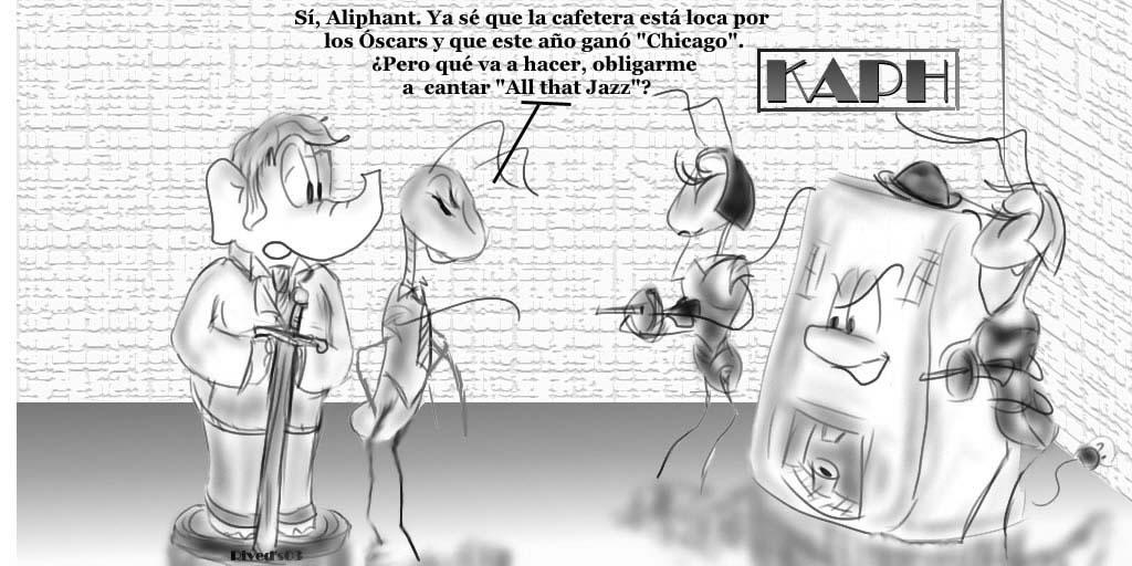 Aliphant XXI. Especial Óscars 2002