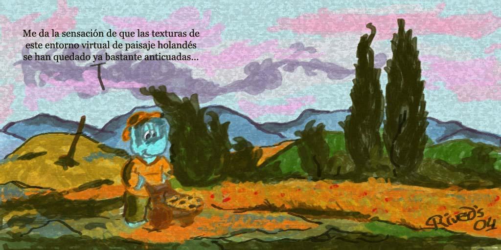 Aliphant CXXV. Cipreses de Van Gogh