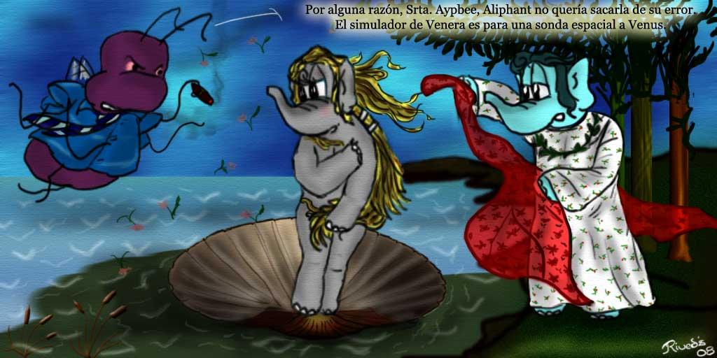 Aliphant CCCXXV. El Nacimiento de Venus
