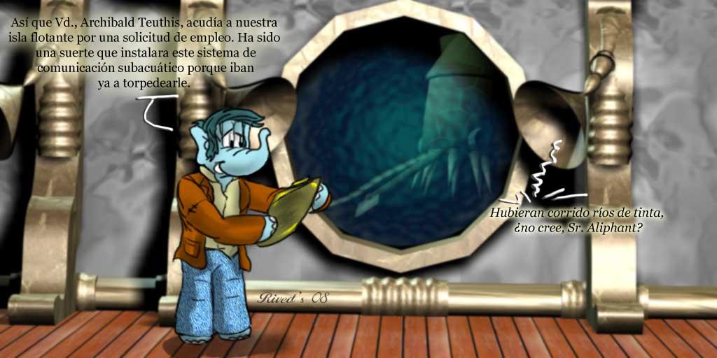 Aliphant CCCXXVII. Ríos de Tinta.