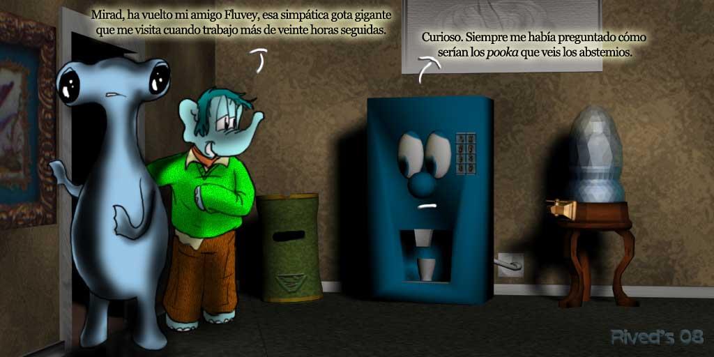 Aliphant CCCXXXV. fluvey, el Pooka Abstemio
