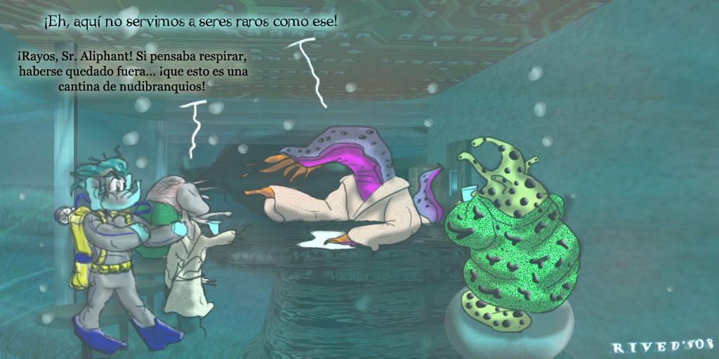 Aliphant CCCXLIII. Cantina Submarina