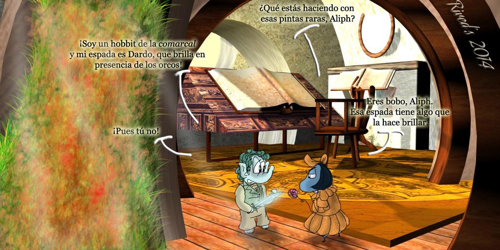 Aliphant DXCVII. El Hobbit