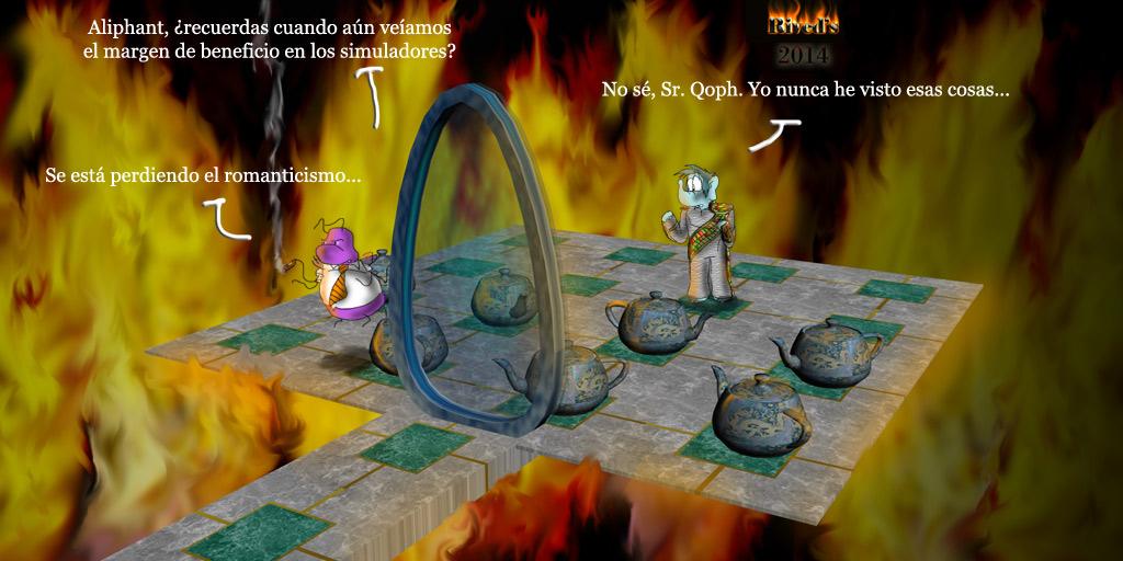 Aliphant DCXIII En llamas