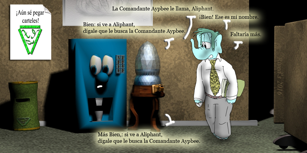 Aliphant DCCIV Llamando...